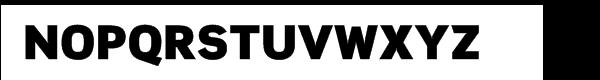 Scene™ Pro Ultra Black Font UPPERCASE
