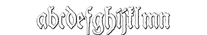Schneider Buch Deutsch Beveled Free Font LOWERCASE