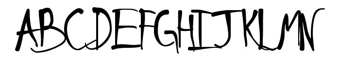 Schneller Font UPPERCASE