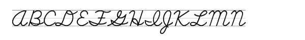 School Script Lined  What Font is