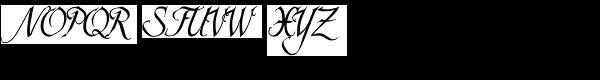 Scriptissimo-End Font UPPERCASE