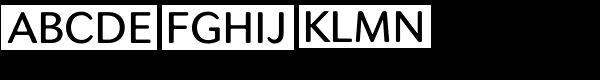 Seconda XtraSoft Medium Font UPPERCASE