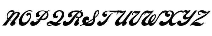 SedonaScriptFLF Font UPPERCASE