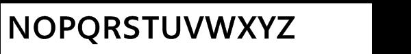 Segoe TV Std Regular Font UPPERCASE