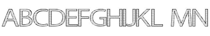 Seni Pop Font UPPERCASE