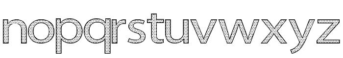 Seni Pop Font LOWERCASE