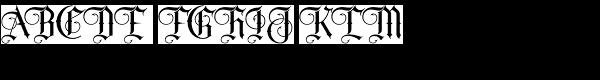 Sepian Font UPPERCASE