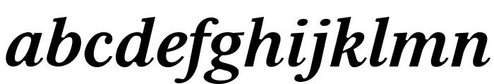 Serif6Beta-BoldItalic Font LOWERCASE