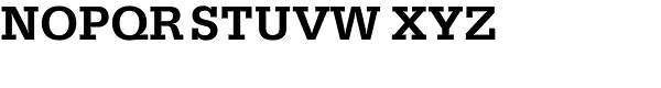 Serifa BEF-Medium Font UPPERCASE