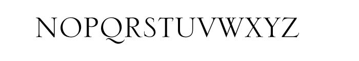 Serlio Std Font UPPERCASE