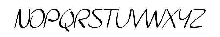 SF Burlington Script SC Font UPPERCASE