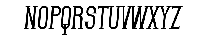 SF Gothican Bold Italic Font UPPERCASE