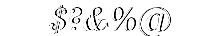 SF Phosphorus Dihydride Font OTHER CHARS