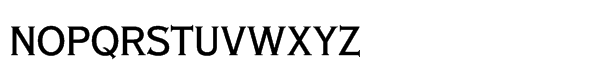 SG Copperplate SH Std Condensed Font LOWERCASE