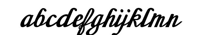 Sherlock-BoldItalic Font LOWERCASE