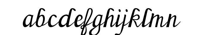 Sherlock Font LOWERCASE