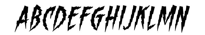 ShockTherapyBB-Italic Font UPPERCASE