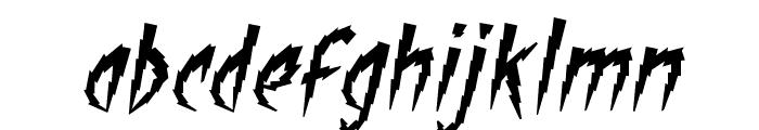 ShockTherapyBB-Italic Font LOWERCASE