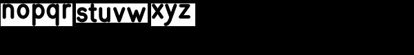 Simpliciter Sans Bold Font LOWERCASE
