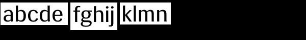 Siri Font LOWERCASE