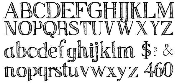 Sketch Serif free Font - What Font Is