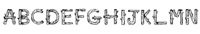 SketchLogs Font UPPERCASE