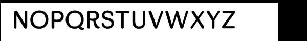 Skirt Regular Font UPPERCASE