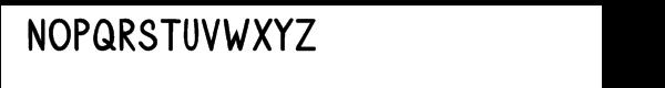 SmartyPants Super Bold Font UPPERCASE