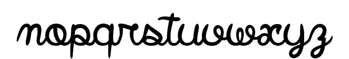 Smile Parade Font LOWERCASE