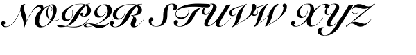 Snell Roundhand LTStd-Blk Scr Font UPPERCASE