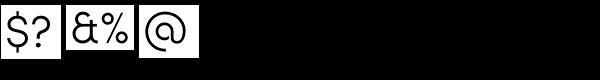 Sofia Pro Light Font OTHER CHARS