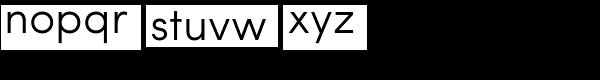 Sofia Pro Light Font LOWERCASE