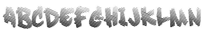 Soft Sugar fade Font UPPERCASE