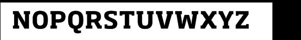 Soho® Pro Bold Font UPPERCASE