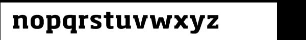 Soho® Pro Bold Font LOWERCASE
