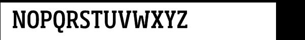 Soho® Pro Condensed Medium Font UPPERCASE