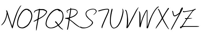 Soljik-Dambaek Font UPPERCASE