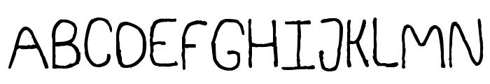 Somebercum Sans Serif Font UPPERCASE