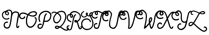 Sortdecai Cursive Wild Script Font UPPERCASE