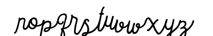 Sortdecai Cursive Wild Script Font LOWERCASE