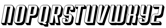 Soupertrouper 3DOblique Font UPPERCASE