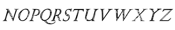 SPQR Italic Font UPPERCASE