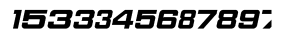 Download Sport Numbers Font - What Font Is