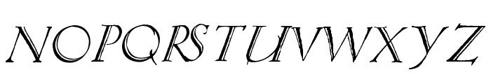 Springtime_Capitals Font LOWERCASE