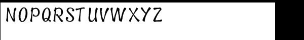 Spud Bold Upright Font UPPERCASE