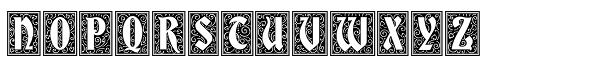 Storybook Initials 3 NF Font LOWERCASE