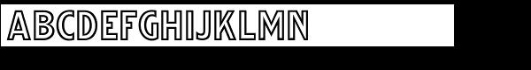 Streamwood JNL Font LOWERCASE
