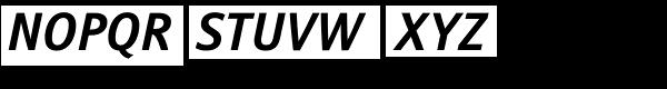 Stroudley Bold Italic Font UPPERCASE