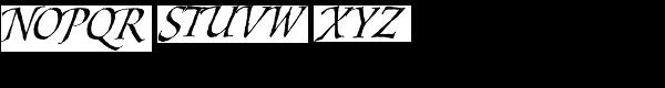 Styx Rough Alt Font UPPERCASE