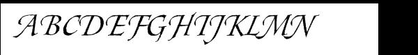 Styx Rough Font UPPERCASE